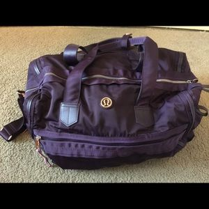 Lululemon gym bag Large